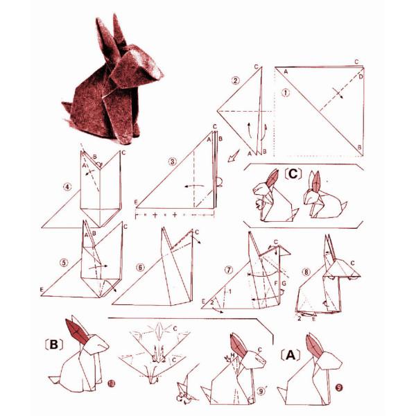 Как сделать по схеме кролика